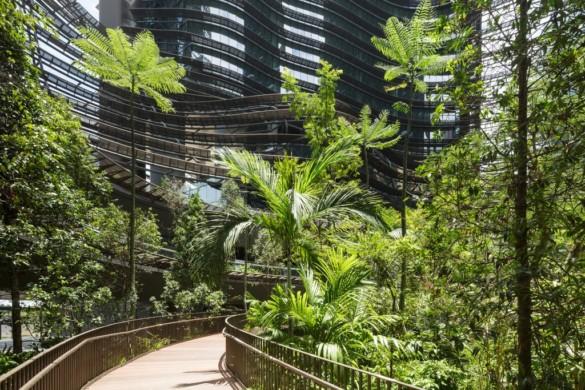 The Green Heart   Marina One   Singapore   ingenhoven architects