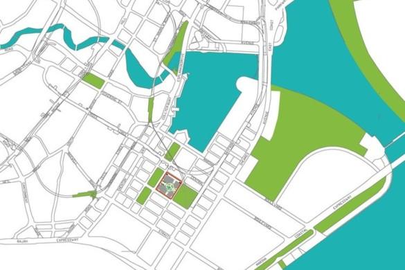 Green Heart – Marina One Singapore - Ingenhoven Architects - Singapore -drawing -22