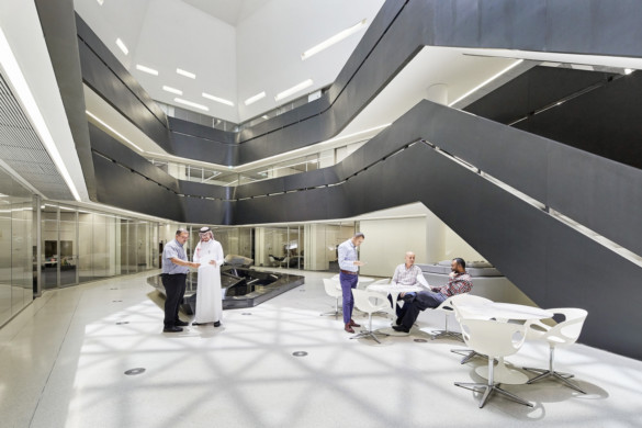 King Abdullah Petroleum Studies and Research Centre - Zaha Hadid Architects - projects - IGS Magazine - news - 16