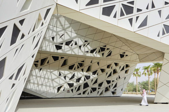 New Video Celebrates the Prismatic Complexity of Zaha Hadid Architects' KAPSARC