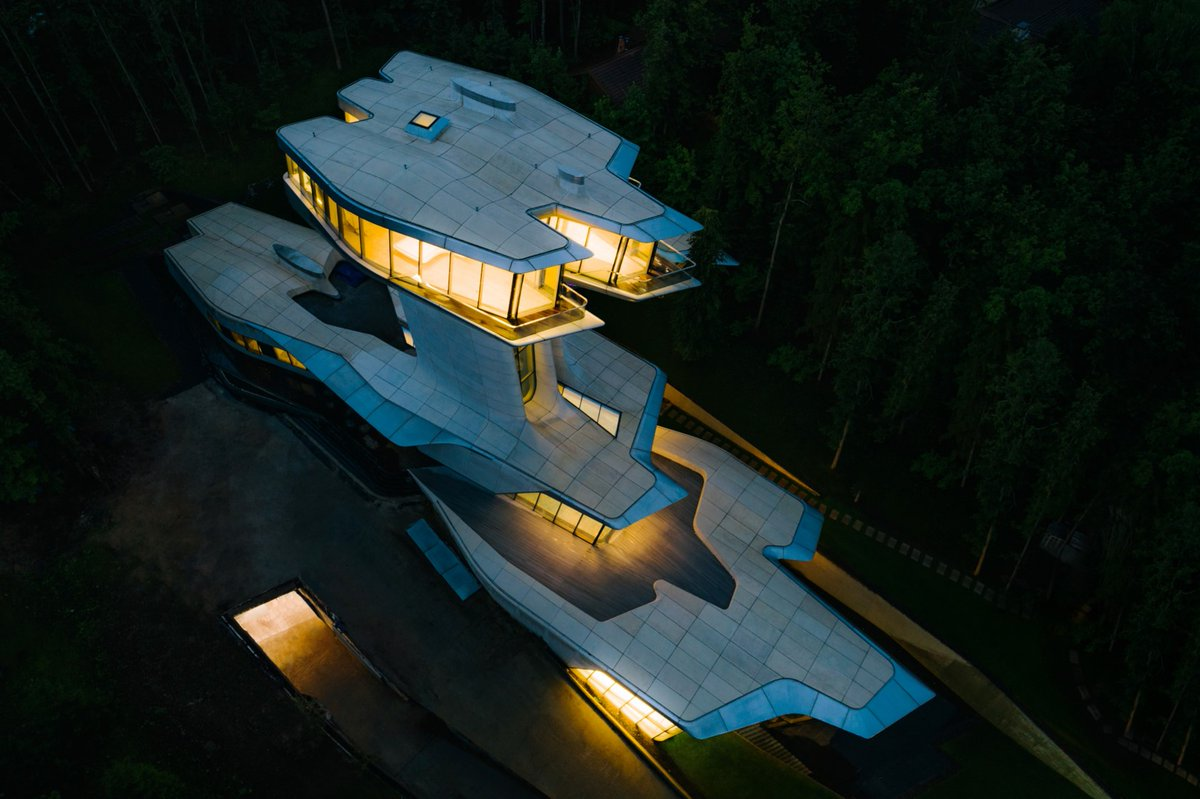 Capital Hill Residence - Zaha Hadid - IGS Magazine - Russia - Private - Architecture - 1
