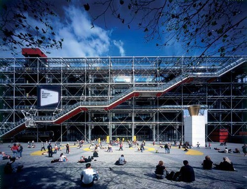 Centre Georges Pompidou- Renzo Piano Building Workshop-Richard Rogers-IGS Magazine