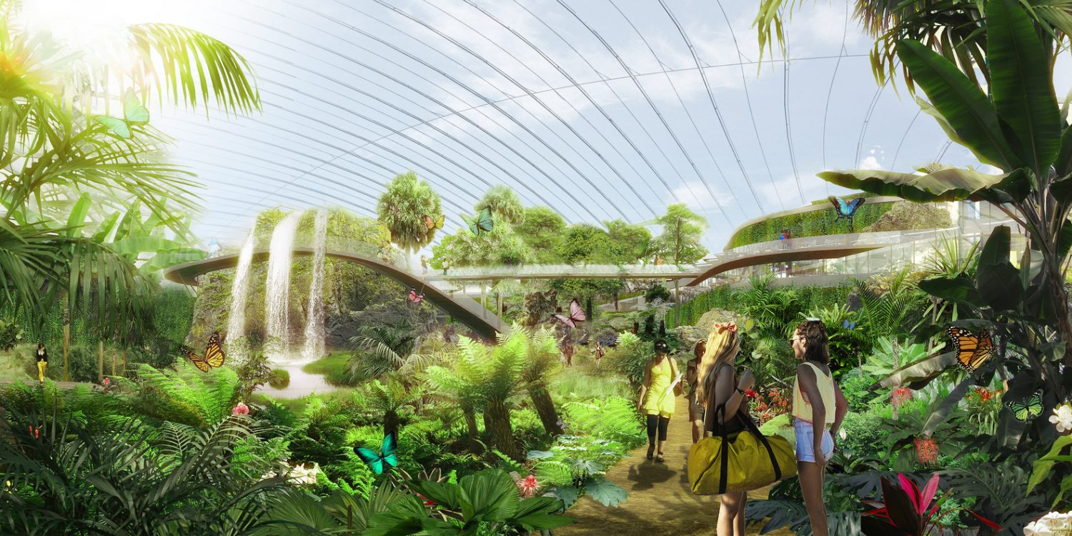 Coldefy & Associates-Design Worlds largest dome-tropical greenhouse- IGS magazine- 4