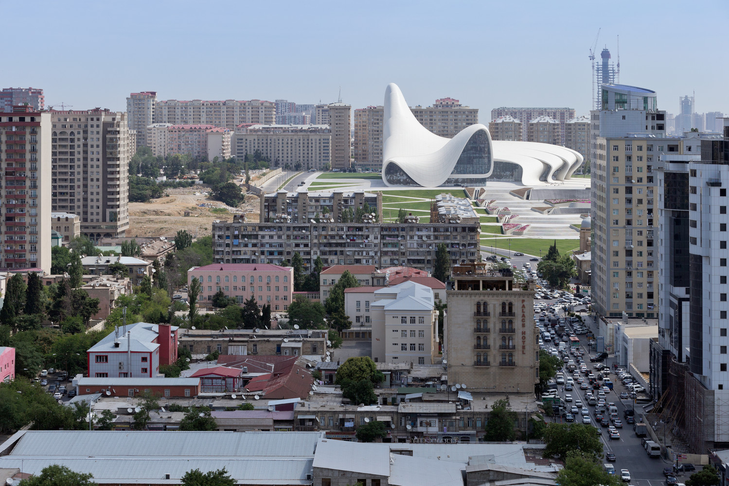 Heydar Aliyev Center-Zaha Hadid Architects-IGS Nostalgia-Architectural Photography-18