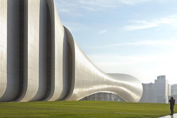 Heydar Aliyev Center-Zaha Hadid Architects-IGS Nostalgia-Architectural Photography-7
