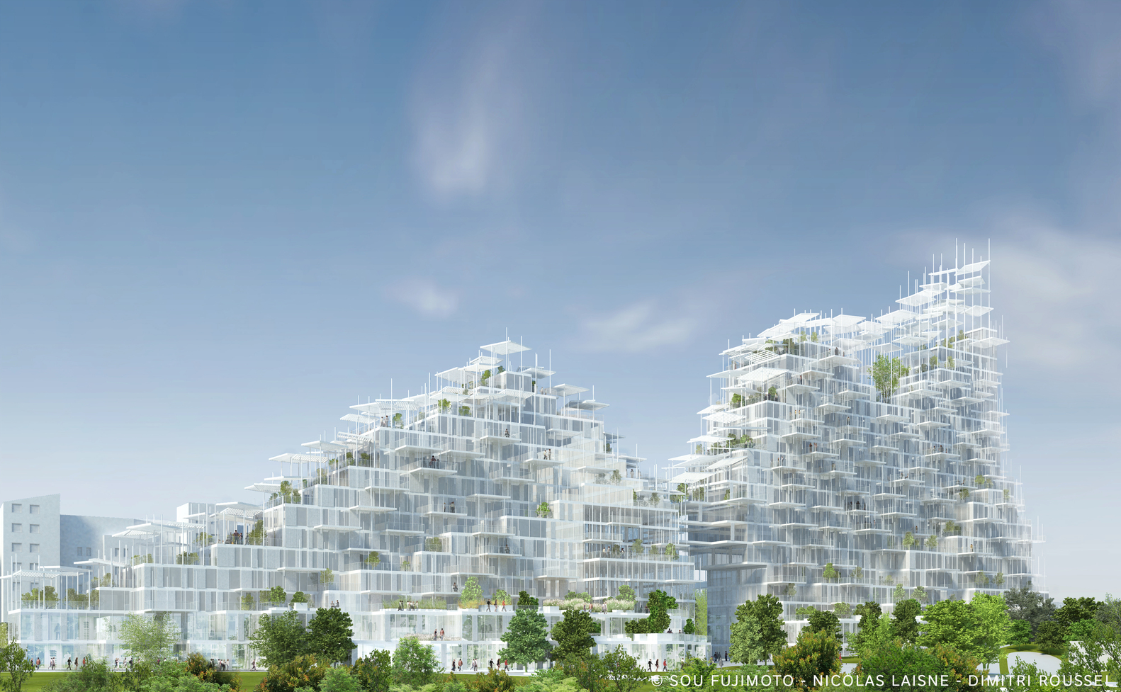 Sou Fujimoto Nicolas Laisné and Dimitri Roussel - Village Vertical - in Grand Paris - IGS Magazine - 1