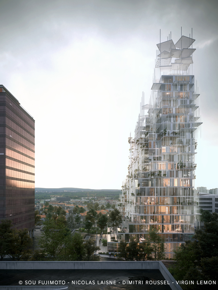 Sou Fujimoto Nicolas Laisné and Dimitri Roussel - Village Vertical - in Grand Paris - IGS Magazine - 2
