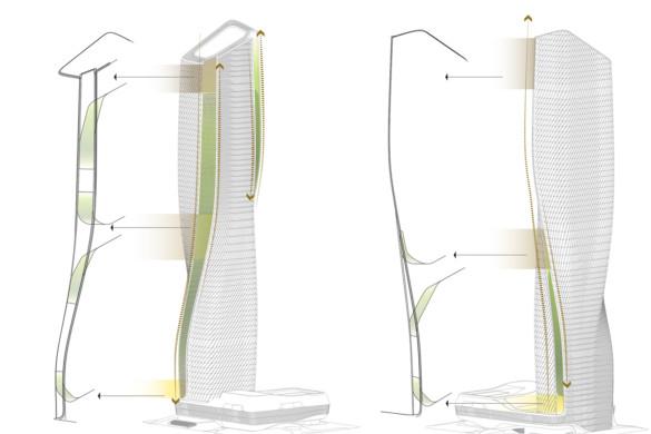 UNStudio-wasl tower-ceramic facade-tall buildings-IGS Magazine-10