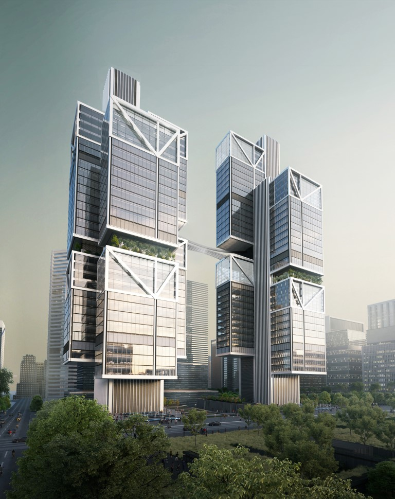 Designs for DJI's new HQ in Shenzhen revealed-IGS Magazine-China-architecture-1