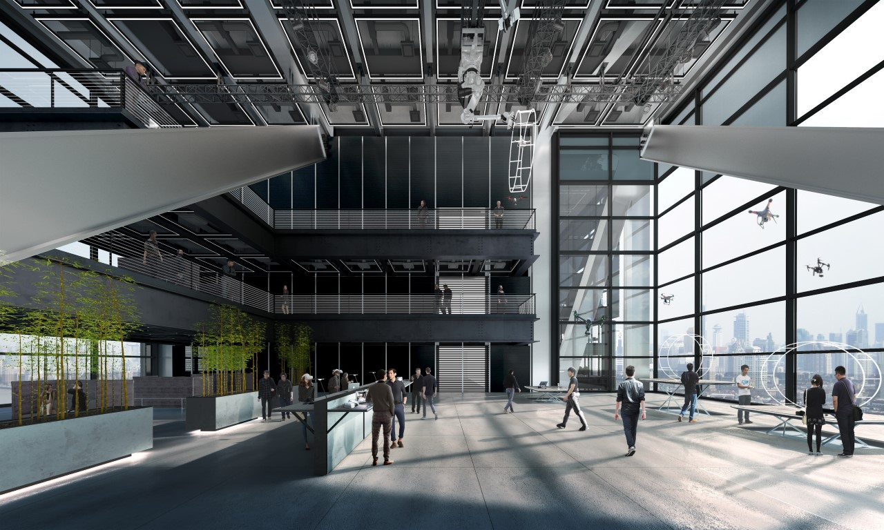 Designs for DJI's new HQ in Shenzhen revealed-IGS Magazine-China-architecture-2