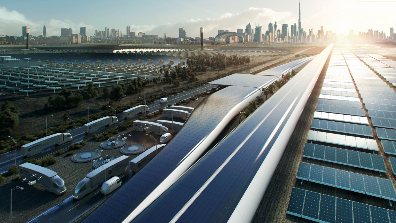 Hyperloop - Foster + Partners - IGS Magazine - Virgin - DP World