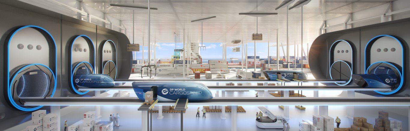 Hyperloop - Foster + Partners - IGS Magazine - Virgin - DP World - 3