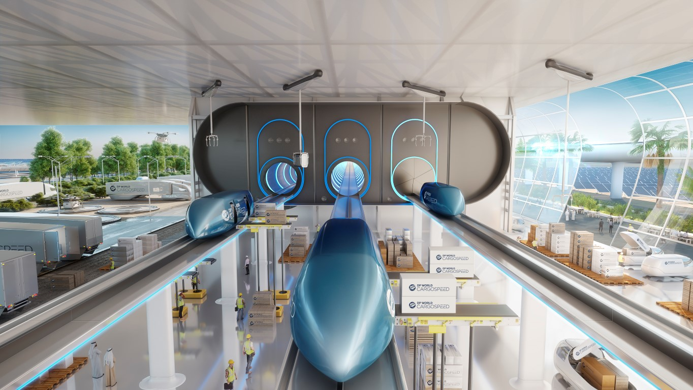 Hyperloop - Foster + Partners - IGS Magazine - Virgin - DP World - 2