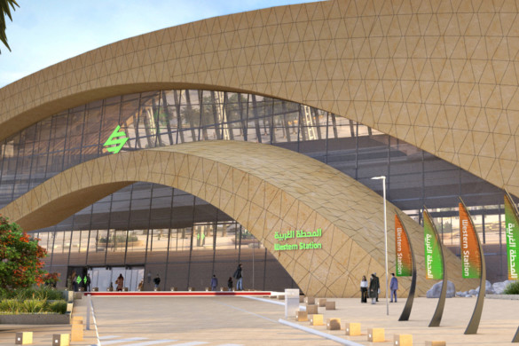Arriyadh Metro Western Station - Omrania - IGS Magazine - Building envelopes - facades - 2