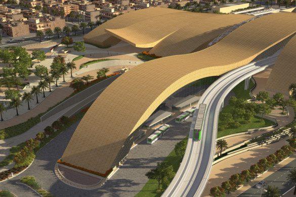 Arriyadh Metro Western Station - Omrania - IGS Magazine - Building envelopes - facades - 4
