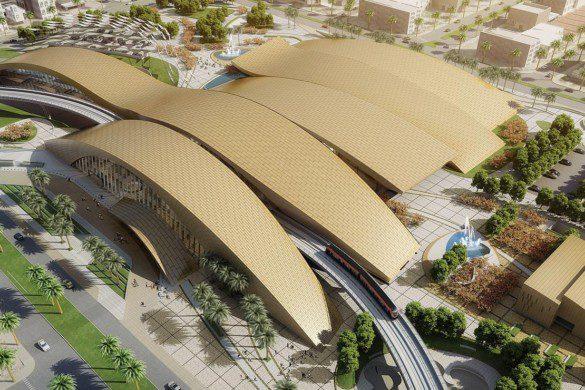 Arriyadh Metro Western Station - Omrania - IGS Magazine - Building envelopes - facades - 5