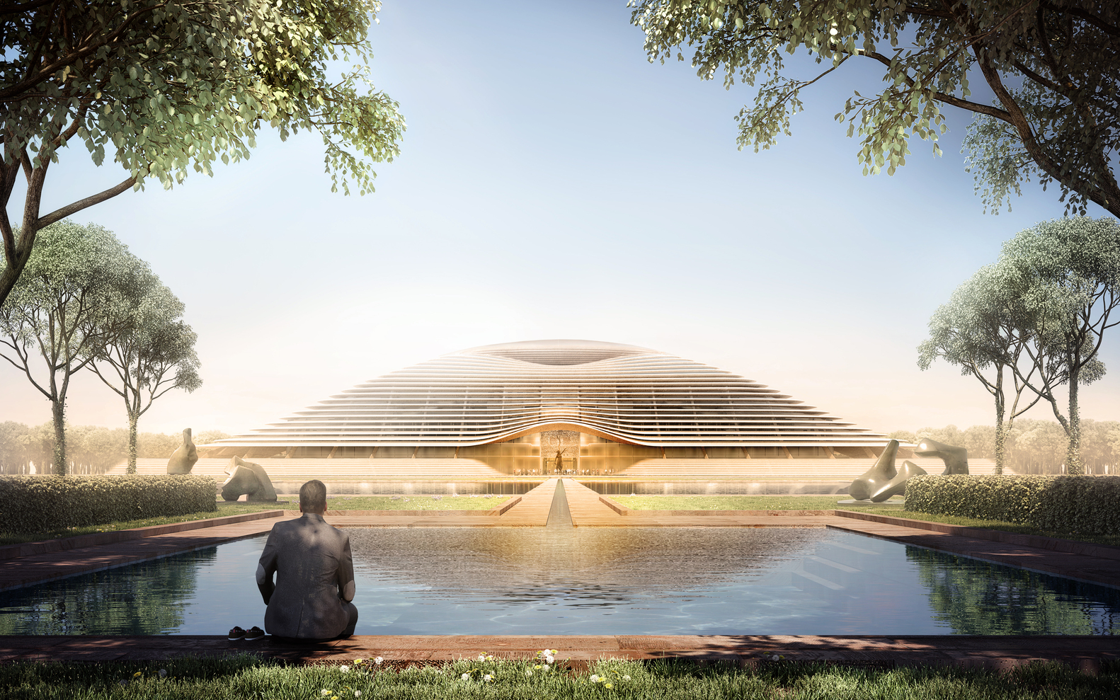 Foster + Partners Designs for Amaravati, the New Capital of Andhra Pradesh - IGS Magazine - 1