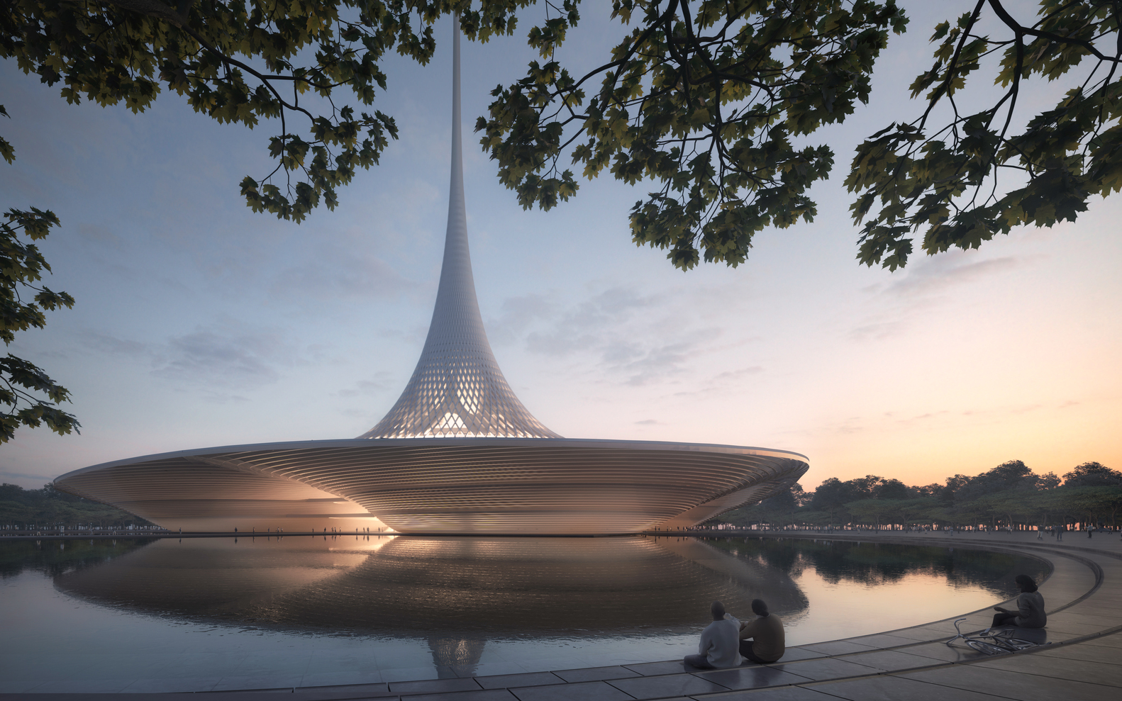 Foster + Partners Designs for Amaravati, the New Capital of Andhra Pradesh - IGS Magazine - 2