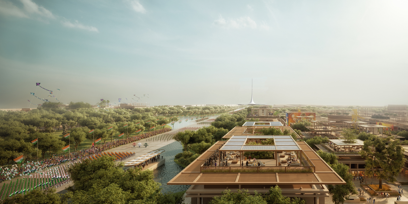 Foster + Partners Designs for Amaravati, the New Capital of Andhra Pradesh - IGS Magazine - 3