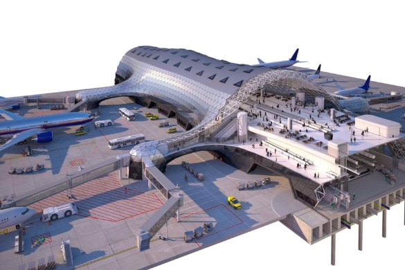 New Mexico City Airport - Foster and Partners - IGS Magazine - projects - 3