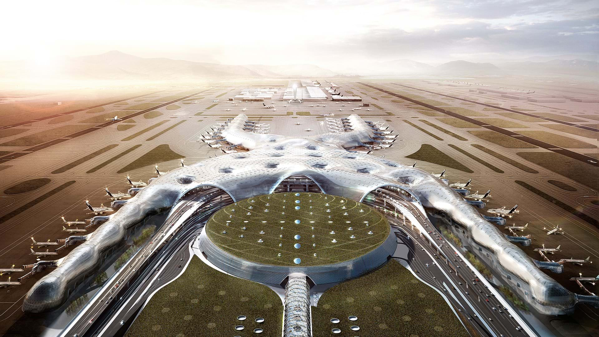New Mexico City Airport - Foster and Partners - IGS Magazine - projects - 5