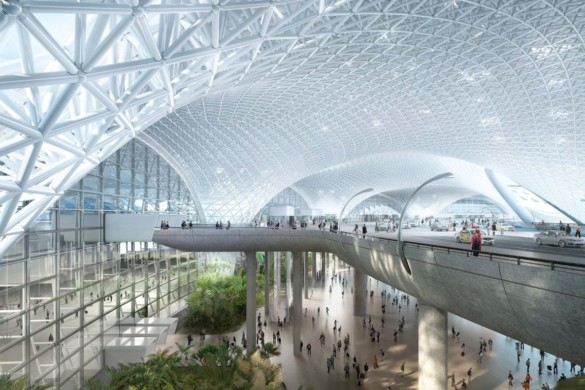 New International Airport Mexico City   Foster + Partners