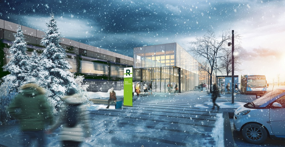 REM architectural and landscape concept to transform Greater Montreal cityscape - Perkins and Will - IGS Magazine - news - 4