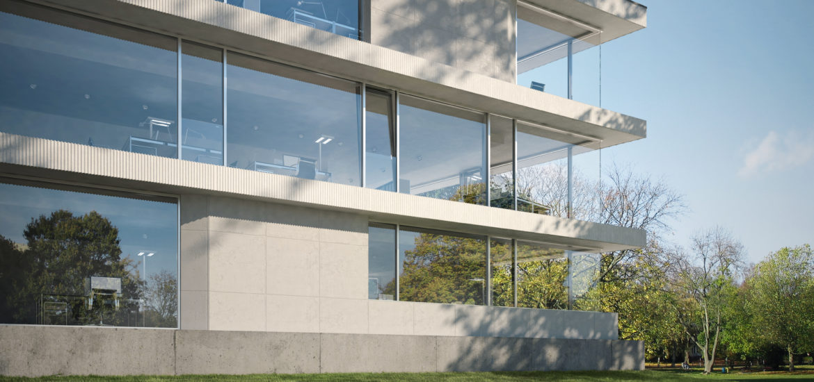 Structural Glass Facades vs Slim Façade Systems - IGS Magazine - Features - 1