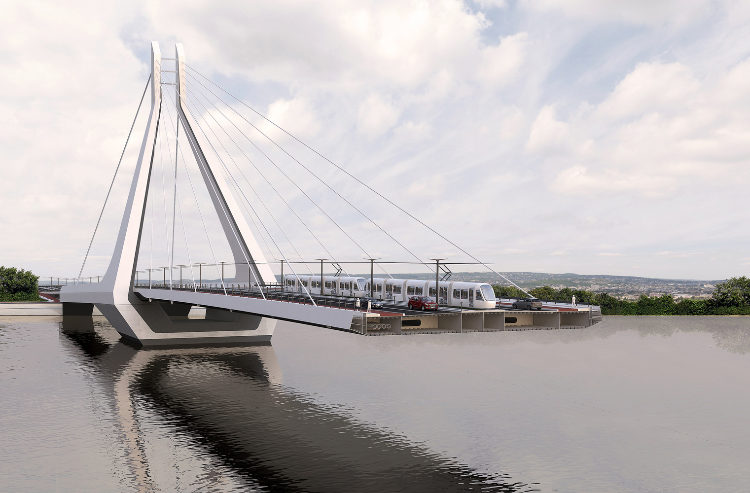 UNStudio wins the competition for the New Budapest Bridge-IGS Magazine-Press Release-3