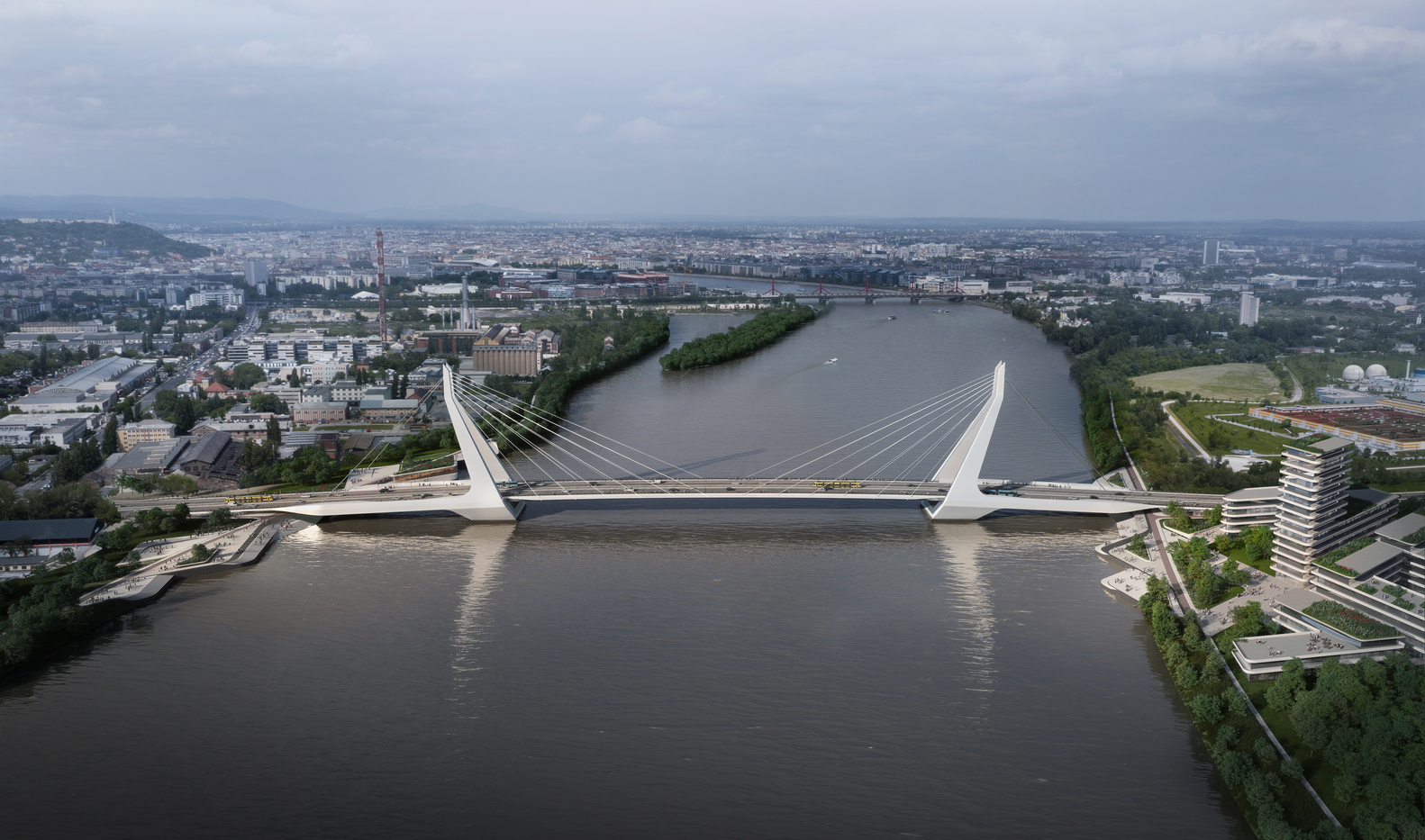 UNStudio wins the competition for the New Budapest Bridge-IGS Magazine-Press Release-5