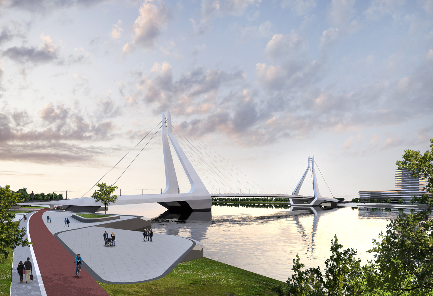 UNStudio wins the competition for the New Budapest Bridge-IGS Magazine-Press Release-6
