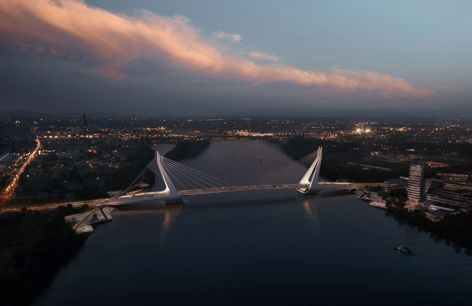 UNStudio wins the competition for the New Budapest Bridge-IGS Magazine-Press Release-7