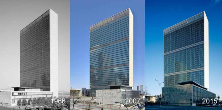United Nations Headquarters - New York - Glass reimagined - IGS Magazine - 1
