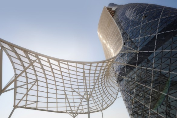 capital gate - RMJM - IGS Magazine - glass - facade - leaning tower - 10
