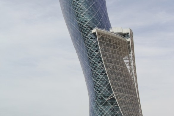 capital gate - RMJM - IGS Magazine - glass - facade - leaning tower - 5