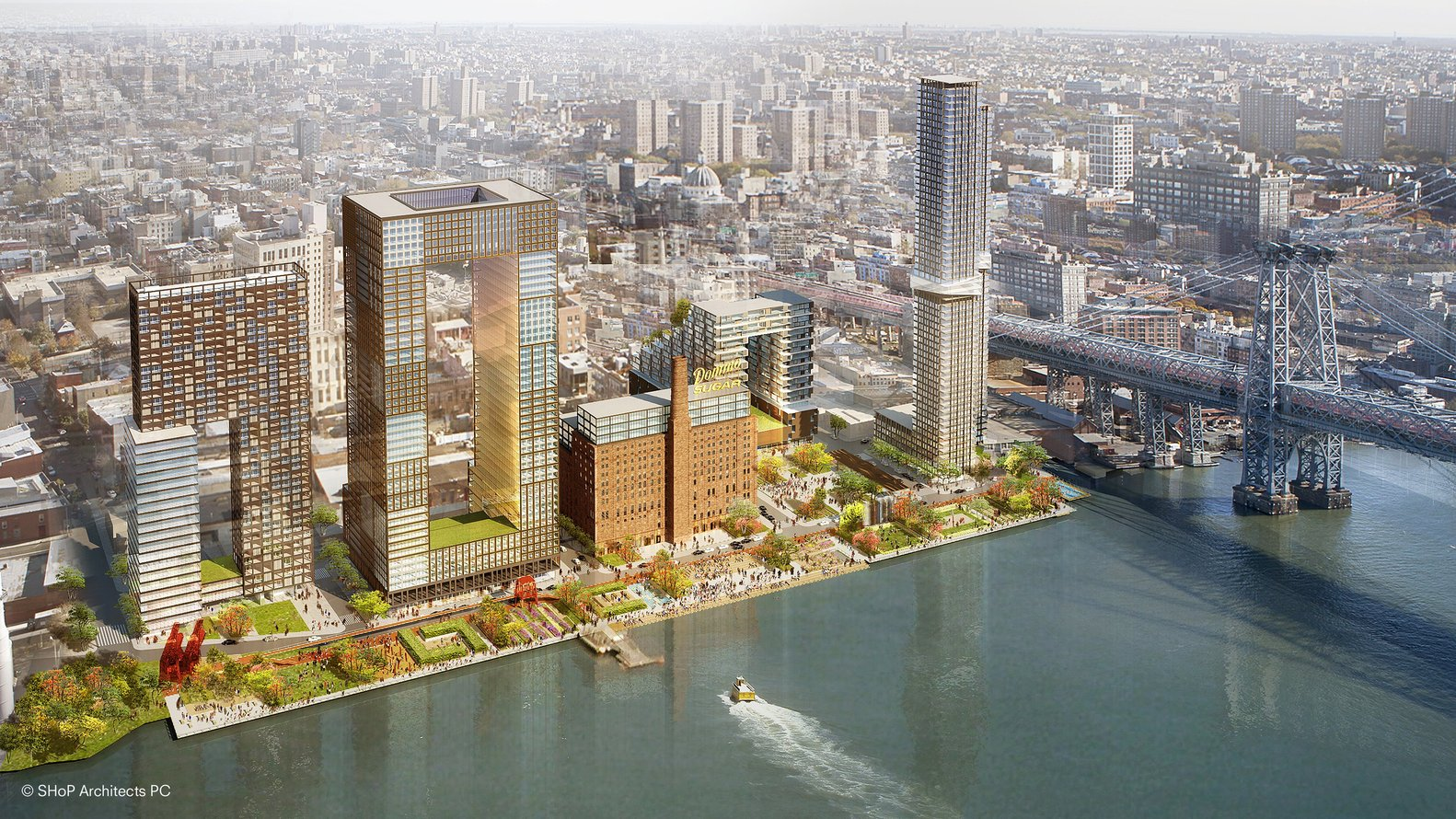 5 NYC Projects - Domino Sugar Factory - SHOP Architects - IGS Magazine - 1
