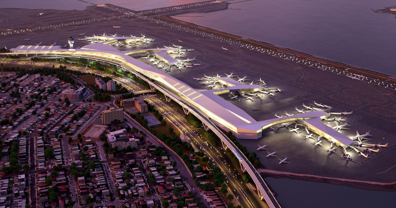 5 NYC Projects - LaGuardia - HOK Architects - IGS Magazine - 1