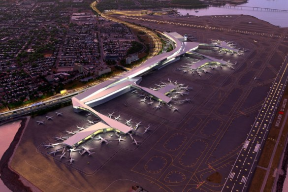 5 NYC Projects - LaGuardia - HOK Architects - IGS Magazine - 2
