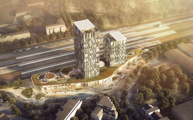 C.F. Moller architects - train station - Hamburg - IGS Magazine -1