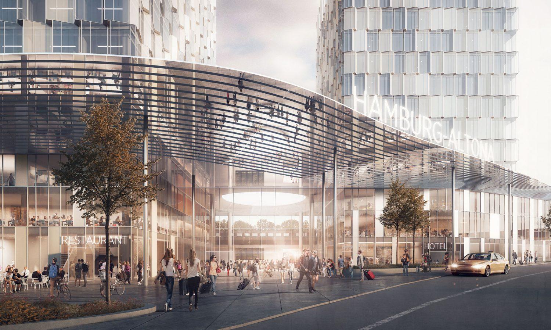 C.F. Moller architects - train station - Hamburg - IGS Magazine -4