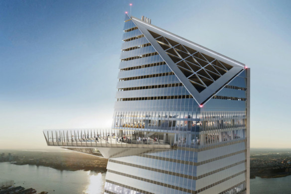 30 Hudson Yards Officially Tops Out 1,296 Feet Above Street Level