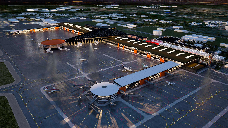 Sheremetyevo-Airport-Terminal-B-RMJM - Russia - Press Release
