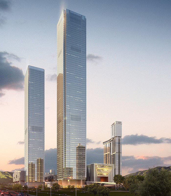 Shum Yip Upperhills mixed-use development − Class A Office & Luxury Hotel Complex - IGS Magazine - 2