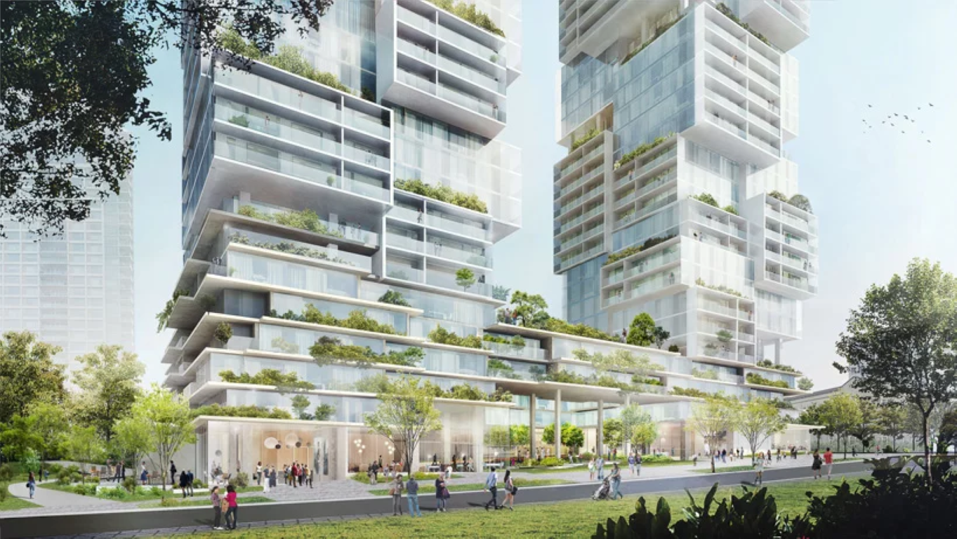 barclay-village-towers-ole-scheeren-vancouver-IGS Magazine - Press Releases - 2