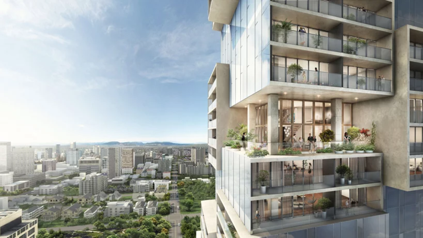 barclay-village-towers-ole-scheeren-vancouver-IGS Magazine - Press Releases - 3