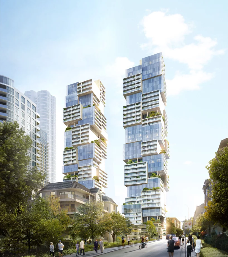 barclay-village-towers-ole-scheeren-vancouver-IGS Magazine - Press Releases - 4