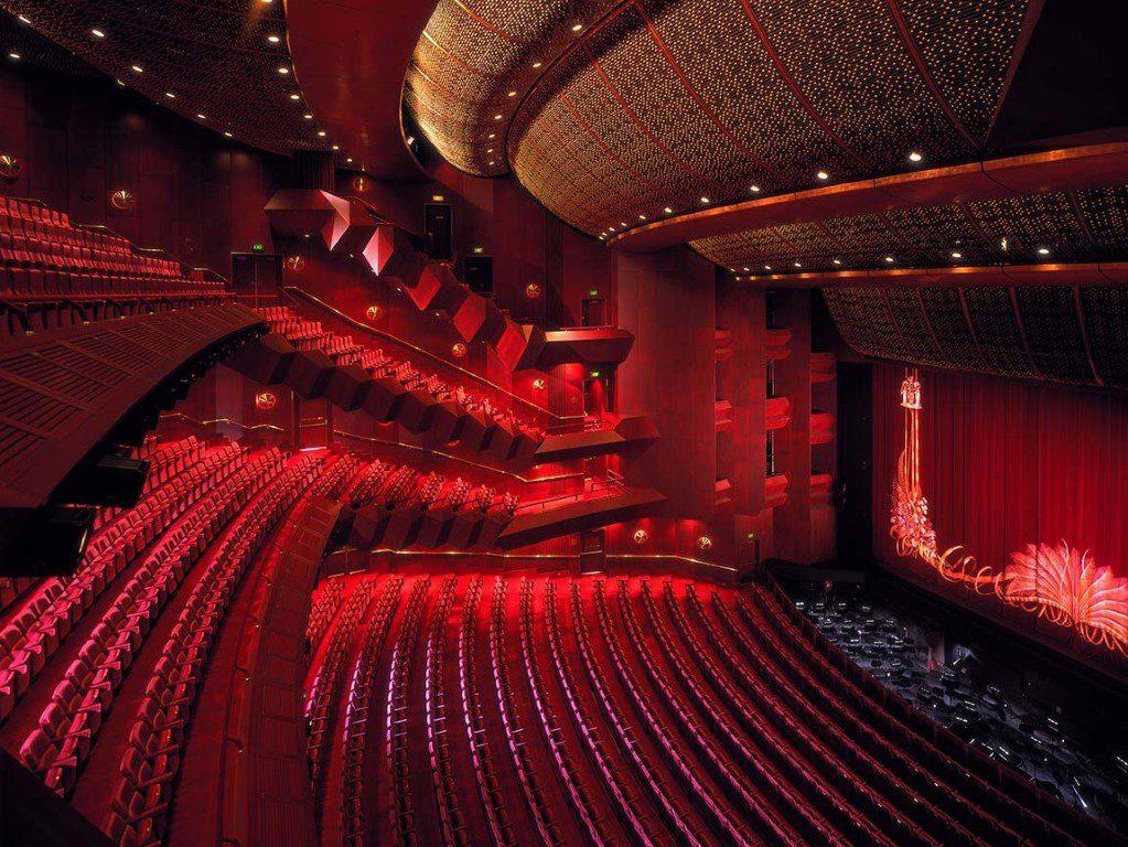Arts Centre Melbourne's State Theatre.