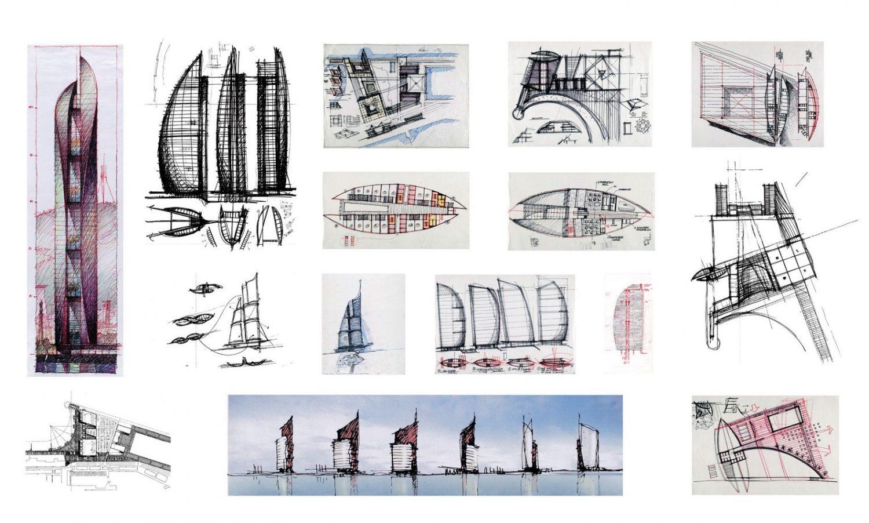 Ricardo_Bofill_Taller_Arquitectura_Drawings