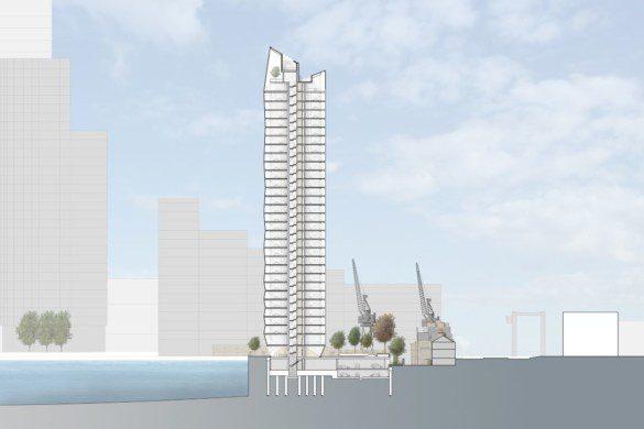 SimpsonHaugh's Dollar Bay Provides a Striking Addition to Canary Wharf's Impressive Skyline.