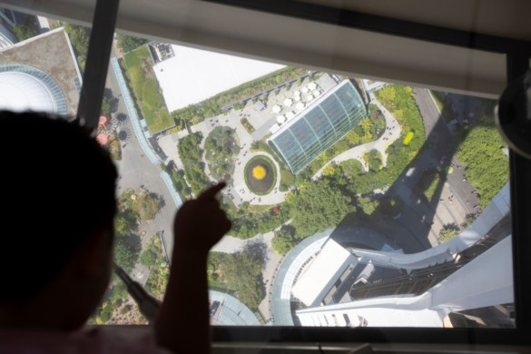 The Loupe - Space Needle's glass floor. Courtesy of John Lok and Space Needle LLC